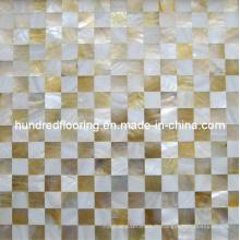 Mosaïque de coquille de mère de perle (HMP64)