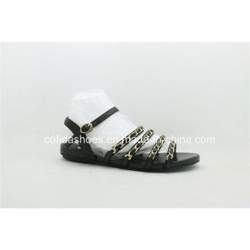 Señora plana Sandals de la playa de la comodidad de la nueva manera