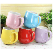 Wholesale Promotional Custom Shape Ice Cream Mug