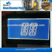 Display de Indicação Completo do Elevador