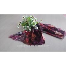 Écharpe en laine soluble dans l'eau Mongolie intérieure style imprimé