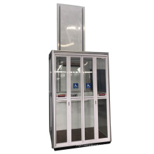 200KG 1200*900mm hydraulic home lifts prices residential elevator