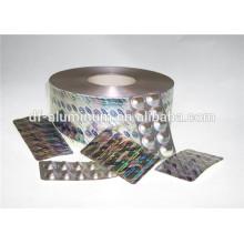 Emballage pharmaceutique durable Feuille d'aluminium pour emballage médical