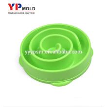 Fournisseur de moulage par injection bol alimentaire en plastique pour animaux de compagnie