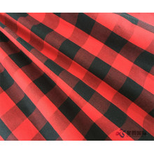 Classic Red And Black Periksa 100% Kain Katun