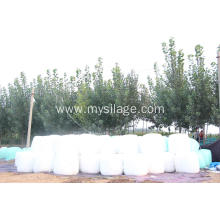 China Cheap price for Farm Film Silage Wrap White Agricultural Silage Wrap Film Width750 Legth1500 export to Cape Verde Supplier