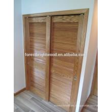 Tradicional persiana armario puerta corredera