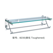 bathroom metal hanging towel shelf made in China:8235