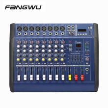Good Quality Popular 8ch Speaker Amplifier Mixer