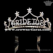 Crystal Rhinestone Bride To Be Tiaras