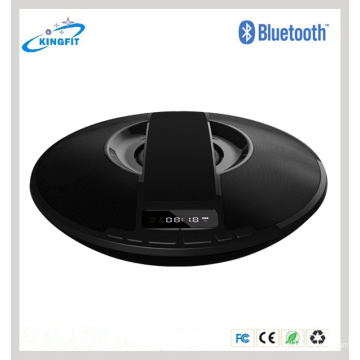 Forma de LED Handsfree Display Speaker Speaker Dish Mini Speaker