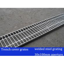 Geschweißte Stahlgitter für Trench Cover Grate