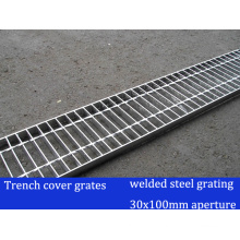Welded Steel Grating for Trench Cover Grate