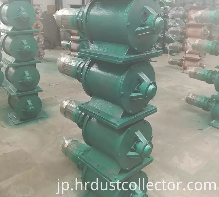 Rotary valve in cast iron industry
