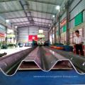 Manufecturing manija de alta manera de la manera w del camino forma la barra de la barrera de bar de la carretera de la barra de la barrera que hace la máquina automática