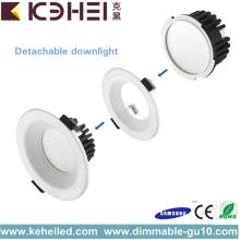 2 ans de garantie forme ronde dimmable LED Downlight