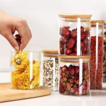Preservation Safe Borosilicate Food Storage Spice Glass Jar Container