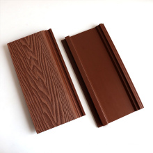 3D Wood Effect Deep Embossing Mixed Color Waterproof Fire Proof Wood Plastic Composite Wall Cladding Board WPC Exterior Siding