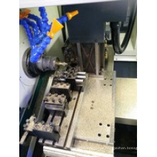 Schweizer Drehbank Shanghai Bsh205 Hohe Präzision Wirtschafts 3 Achsen-Gang-Werkzeug-Art CNC Drehmaschine für Autoteile