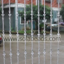 Best Quality for acrylic crystal bead curtain Winter 18MM&14MM&6MM Wire Crystal Beading Garland String export to Botswana Supplier