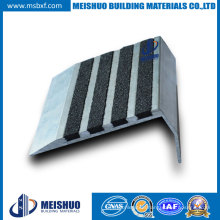 Warehouses Aluminum Base Tile Stair Parts Anti Slip Stair Nosings