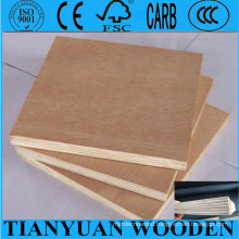 Full Poplar Plywood / Furniture Okume Plywood
