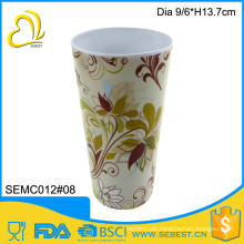 wholesale melamine tableware products plastic reusable coffee cup