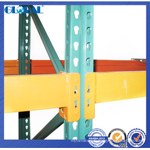 Wire decking compatible of teardrop pallet racking/storage rack for logistic