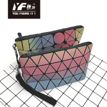 Custom colorful focus PU hand bag