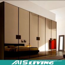 Mirror Pull out Door  Wardrobe  Cabinets (AIS-W415)