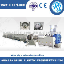 HDPE water supply pipe production machinery