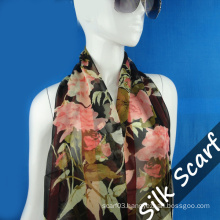 Nature Silk Long Scarf with High Quality