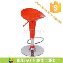 Taburete de plástico de alta calidad Bar ABS BarStool rojo