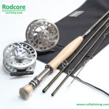 Roda de pesca de carbono com alto módulo de carbono