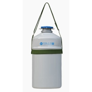 Portable Dewar Aluminium Alloy Biological Liquid Itrogen Container