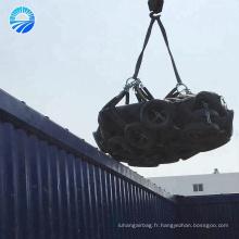 Garde-boue en caoutchouc penumatic de la marque NO.1 4.5mX9m de Hangshuo pour l'accostage de bateau