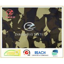 300t Poly Taffeta Desert Camouflage Printing Fabric (ZCBP096)