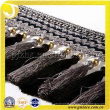 Bali Style 17CM Perlen Quaste Fransen Kleidungsstück Zubehör Trimmen Frange