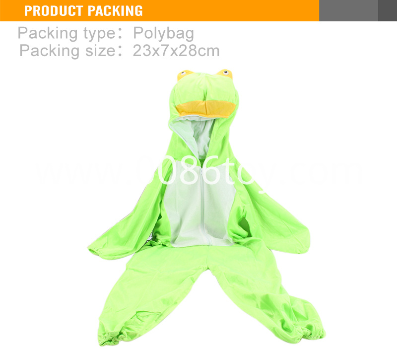 Animals frog clothes