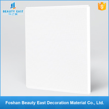 Trade assurance interior decoration materials perforated square lay in ceilings aluminum ceiling tiles