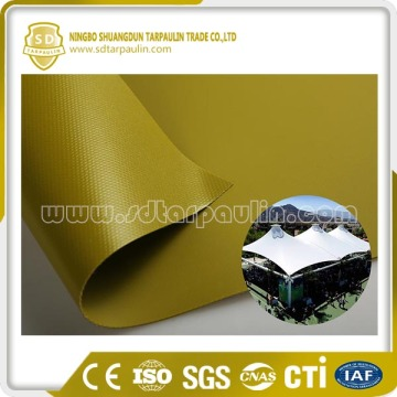 UV Resistant Mildew Resistant PVC Coating Fabric