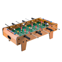 Wooden Foosball Table Portable Football Soccer Game
