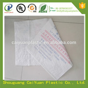 laminated printed maize flour packaging bag 50kg