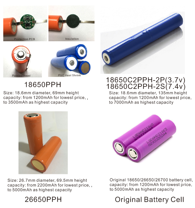 flashlight battery