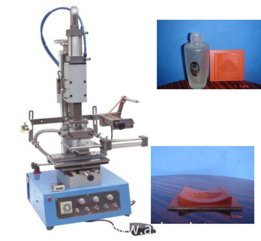 lipstick embossing machine