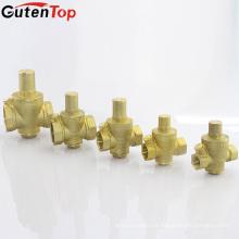 GutenTop alta qualidade 1/2 polegada para 5/2 polegadas de válvula de redução de pressão de material de latão