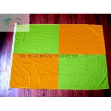100% полиэстер открытый трикотажные разноцветные флаги