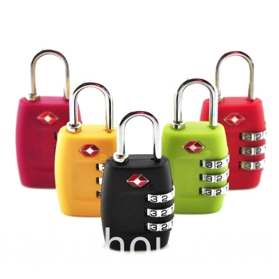 Travel Luggage Lock Tsa Cable Lock Tsa Combination