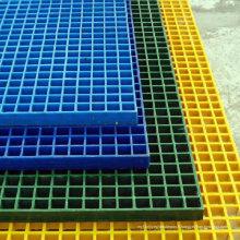 Caillebotis en fibre de verre, grille moulée en PRF / PRV
