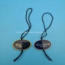 Plastic Garment hang tag string seal for swimwear